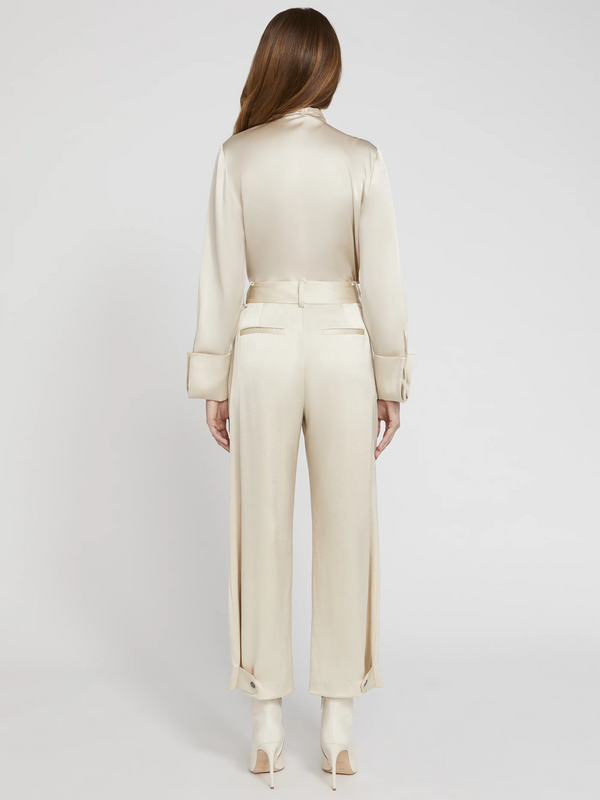 Alice + Olivia - Troy Snap Cuff Pant - Taupe