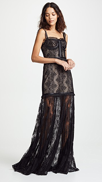 Alexis - Kieran Dress - Black Lace