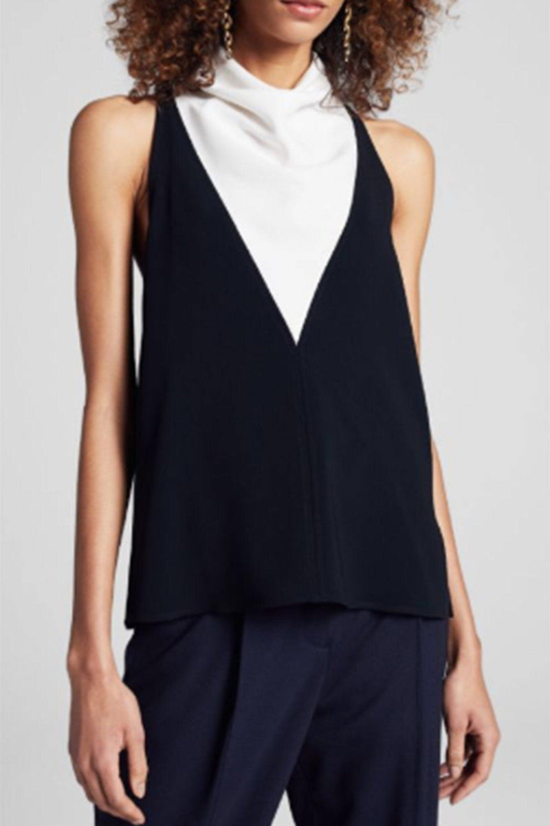 A.L.C. - Cate Top - Black/White