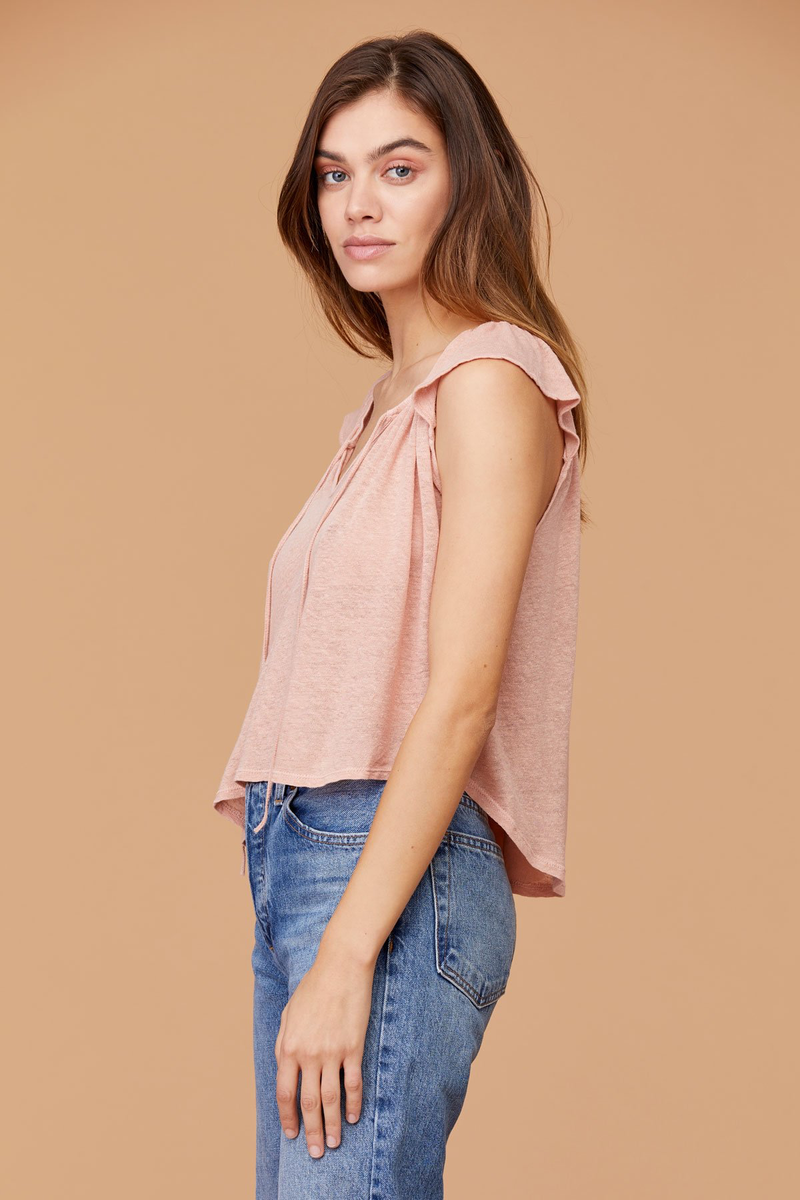 LNA - Clover Top - Cafe Creme