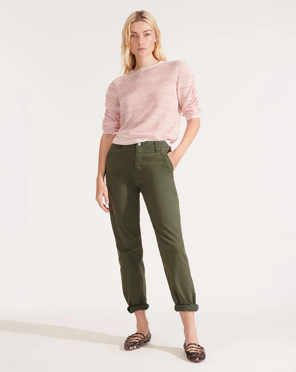 Veronica Beard - Ayla Chino Pant - Army Green