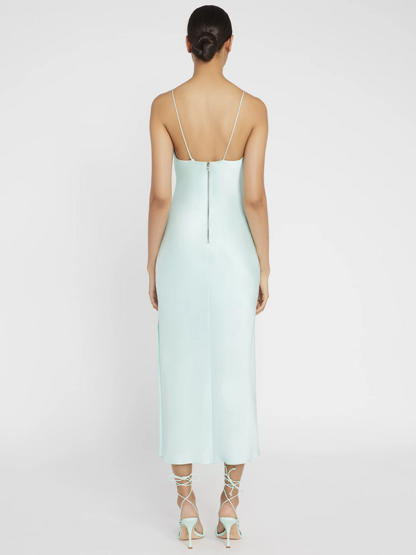 Alice & Olivia - Harmony Slip Midi Dress - Mint
