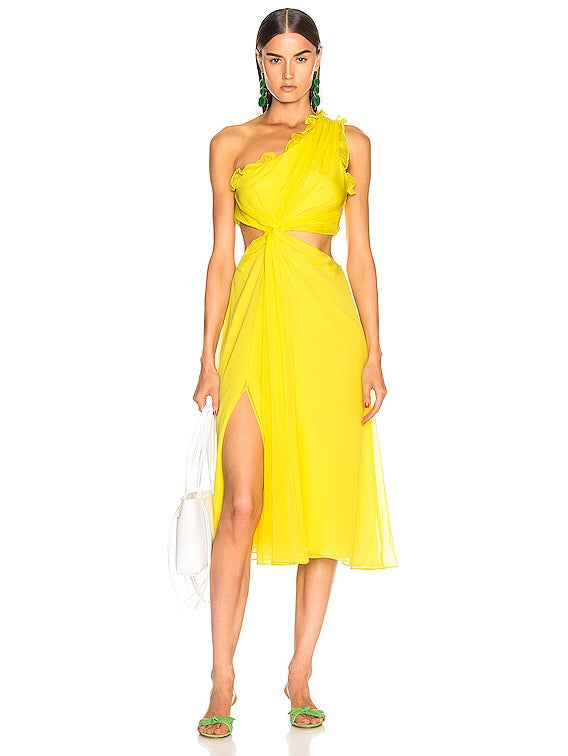 Cinq A Sept - Corinne Dress - Blazing Yellow