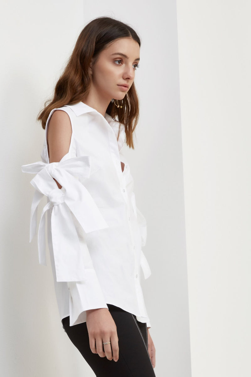 C/ MEO Collective - Surrender Shirt - White