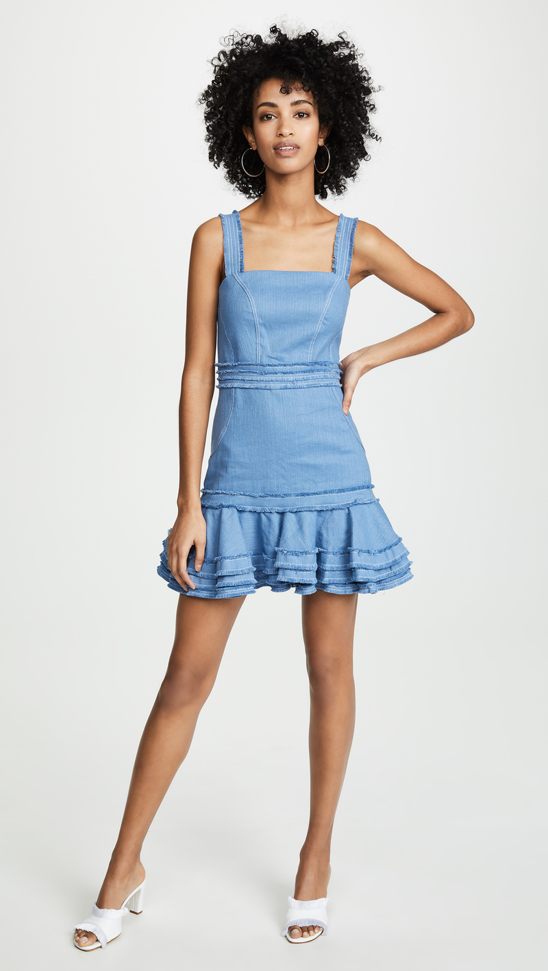 Alexis - Judith Dress - Shell Blue