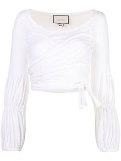 Alexis - Niksa Top - White