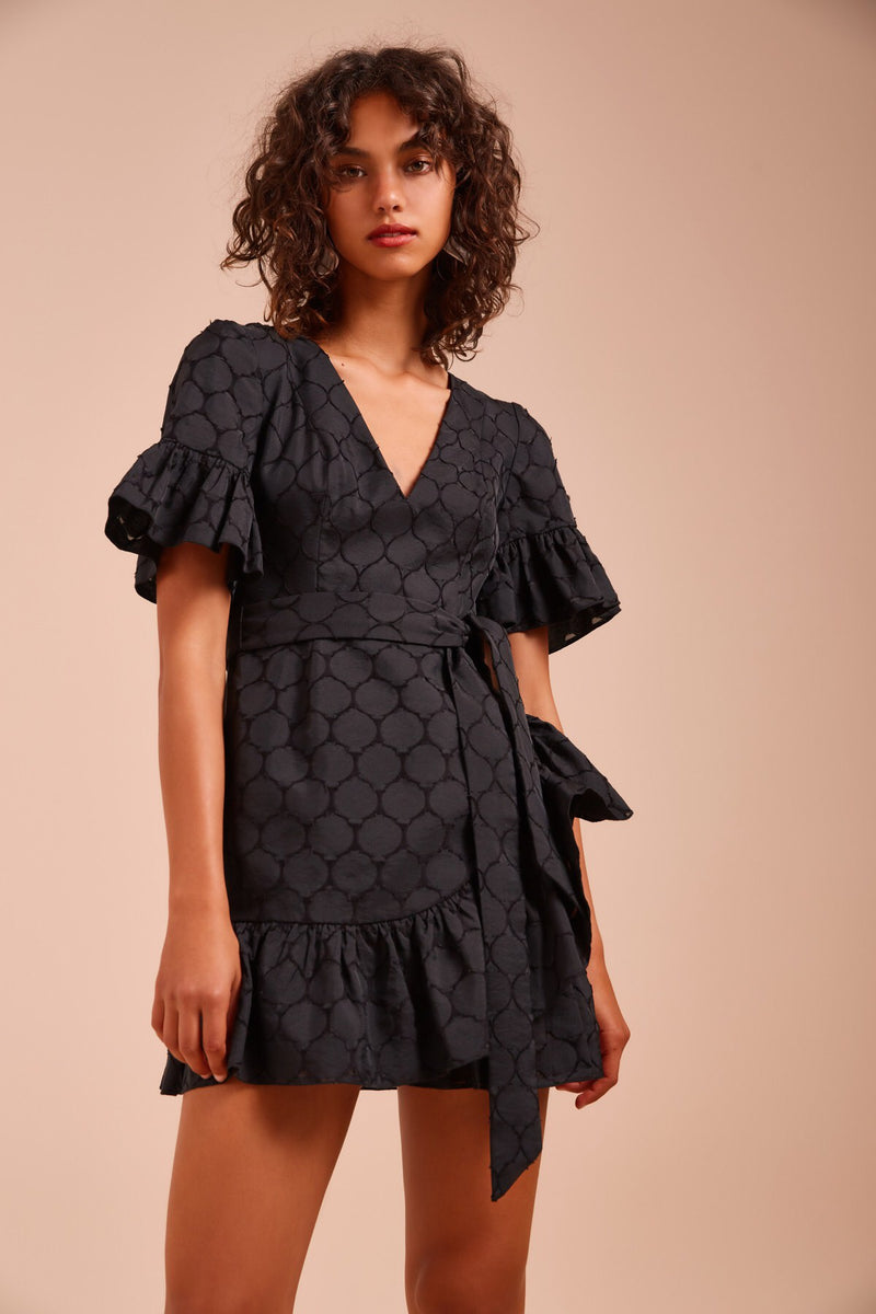 C/MEO Collective - Magnetise Dress - Black