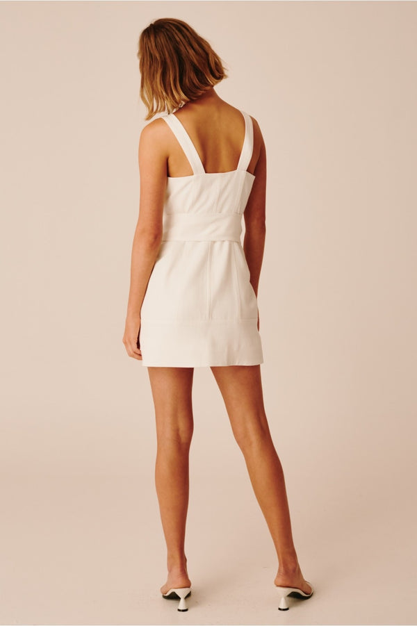 C/ MEO Collective - Collisions Mini Dress - Ivory