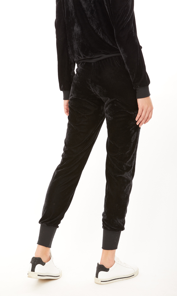 Generation Love - Ivy Velour Jogger - Black