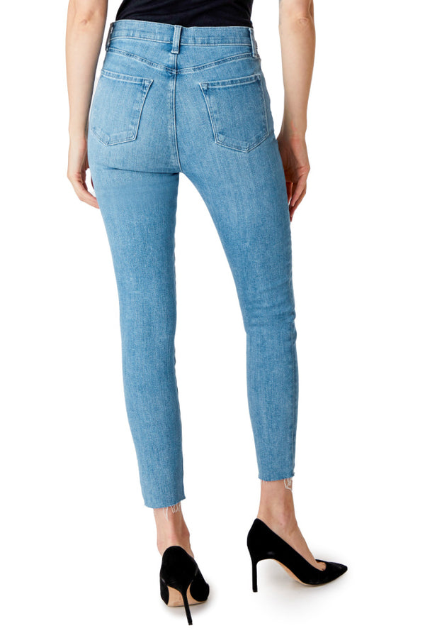 J Brand - Lillie High Rise Crop Skinny - Cloudy