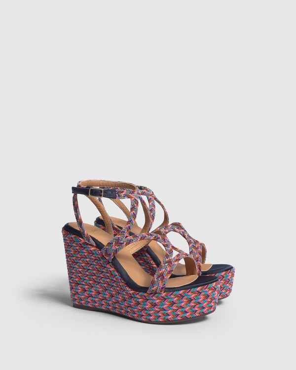 Castaner - Juli Wedge - Multicolor