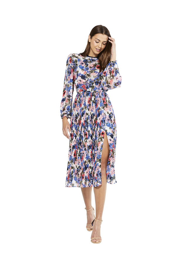 Misa - Juliana Dress - Tie Dye Floral