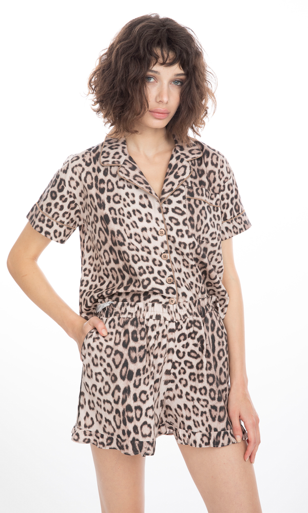 Generation Love - Juliet Pajama Set - Leopard