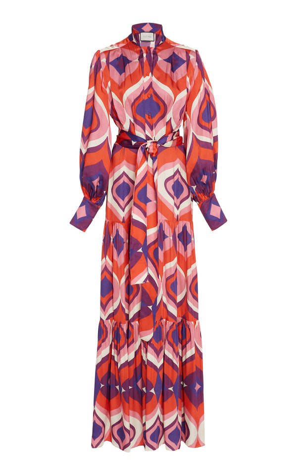 Alexis - Dominica Dress - Kaleidoscope