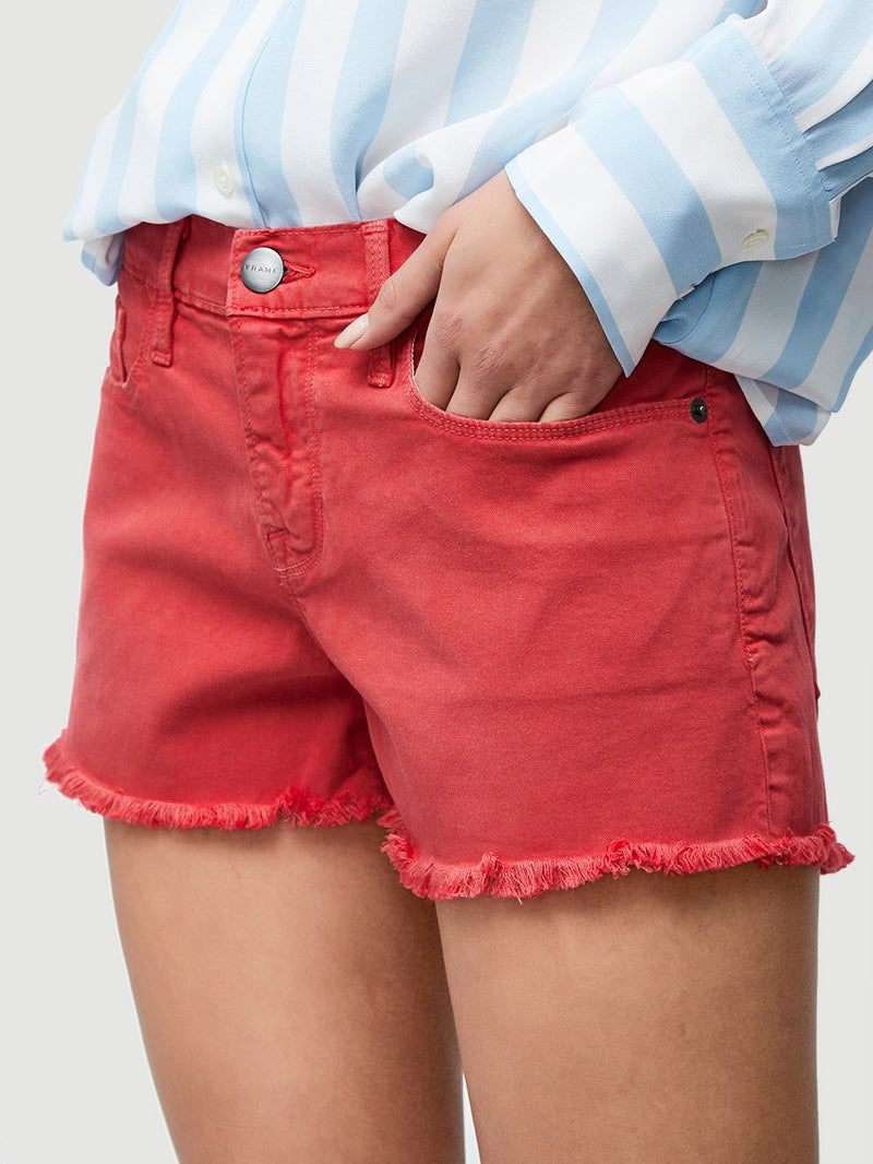 Frame Denim - Le Cut Off - Vintage Red
