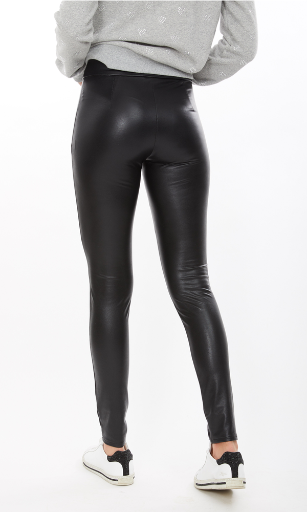 Generation Love - Levi Vegan Leather Leggings - Black