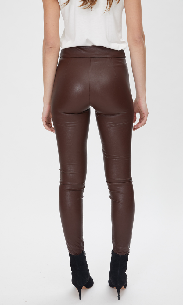 Generation Love - Levi Vegan Leather Leggings - Brown