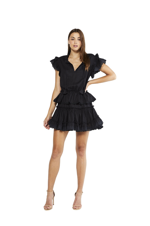 Misa - Lilian Dress - Black