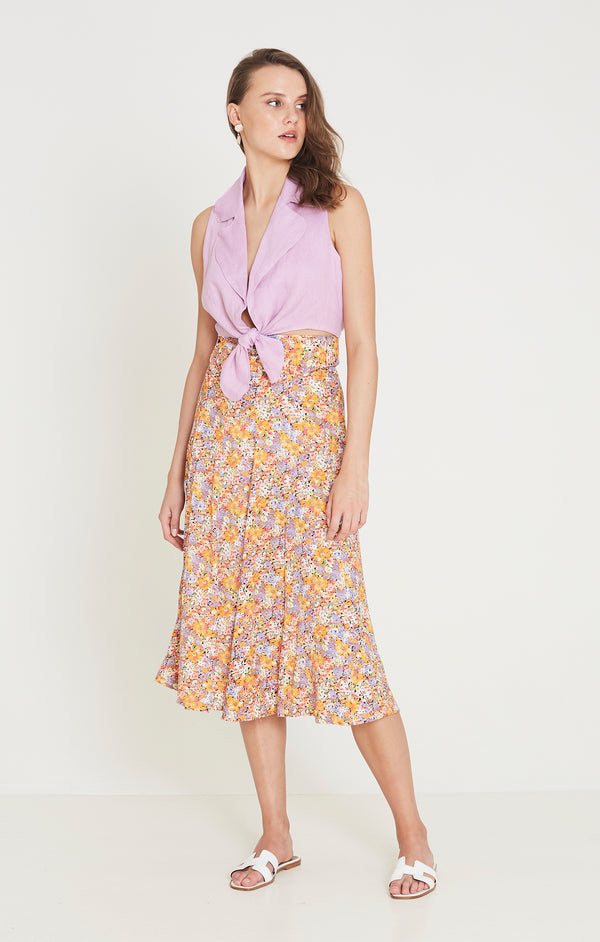 Faithfull The Brand - Luda Midi Skirt - Meja Floral Print