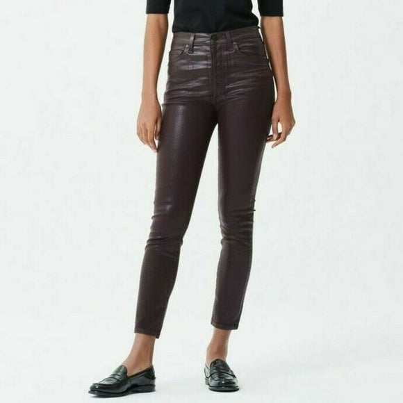 Citizens of humanity - Olivia Leatherette Ankle - raisin