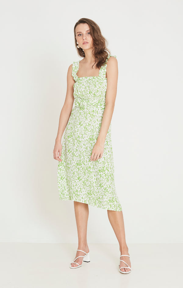 Faithfull The Brand - Mae Midi Dress - Freja Floral Print