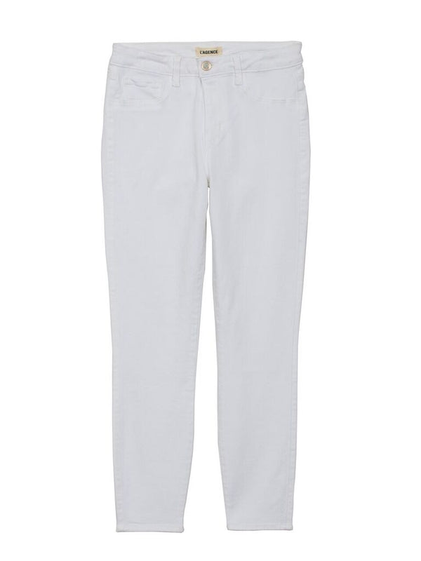 L'Agence - Margot H/R Skinny Jeans - Blanc