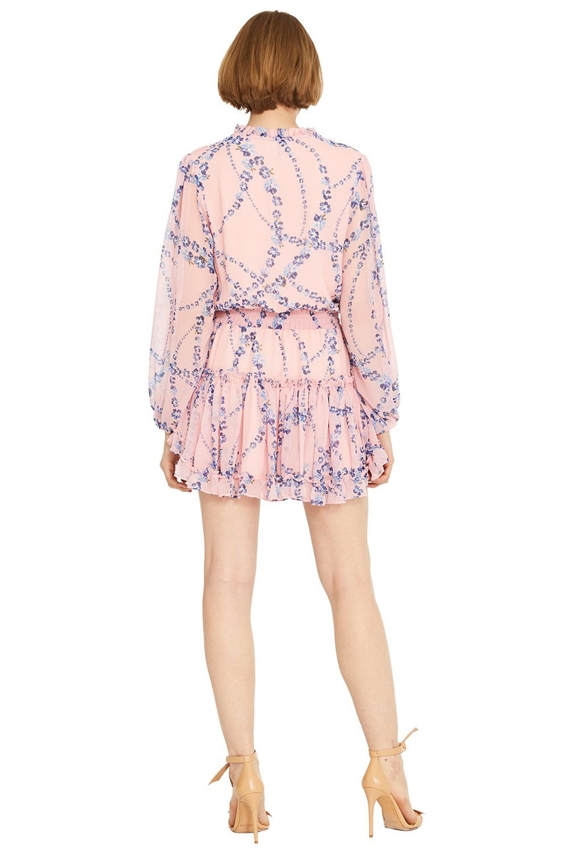 Misa - Lorena Dress - Intertwined Floral
