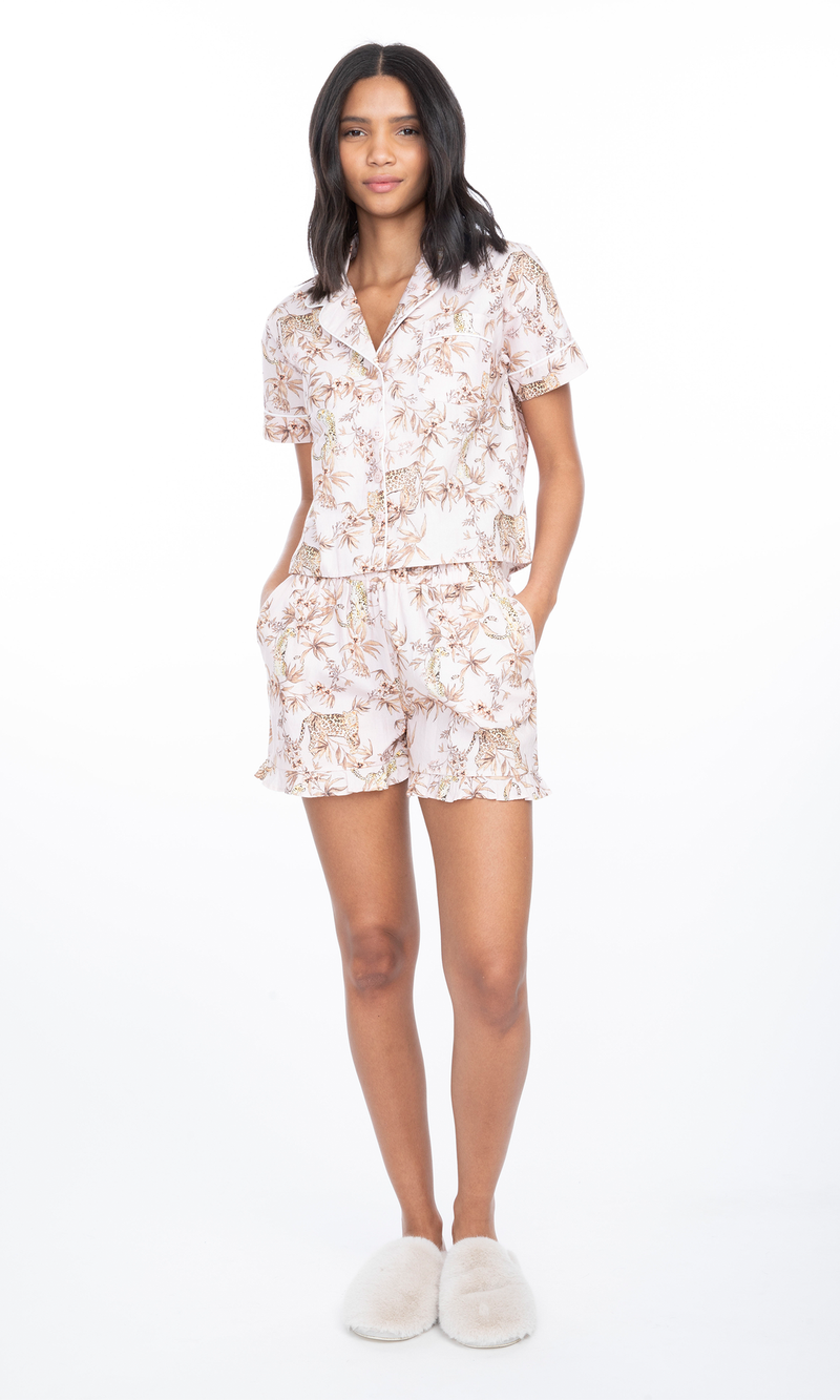 Generation Love - Juliets Pajama Set - Moving Leeopard