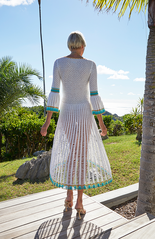 My Beachy Side - Myna Long Sleeved Dress In Multiple Colors