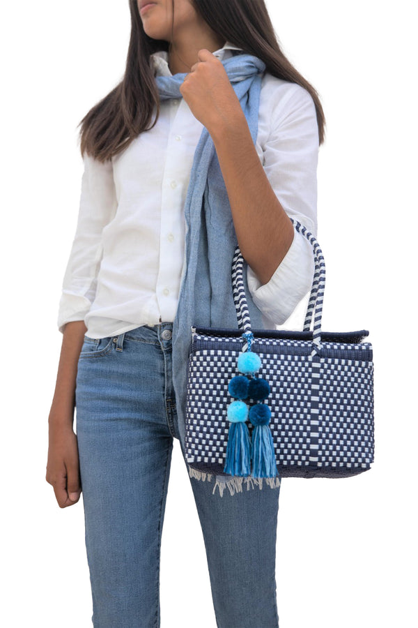 Un Pueblo - Bombon Mini Tote In Multiple Colors
