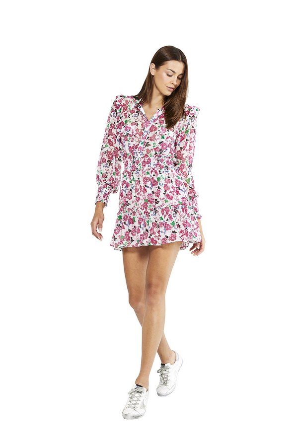 Misa - Niamat Dress - Peony Floral Ditsy