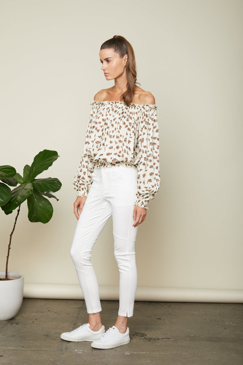 Sundays - Nicks Top - Animal Print