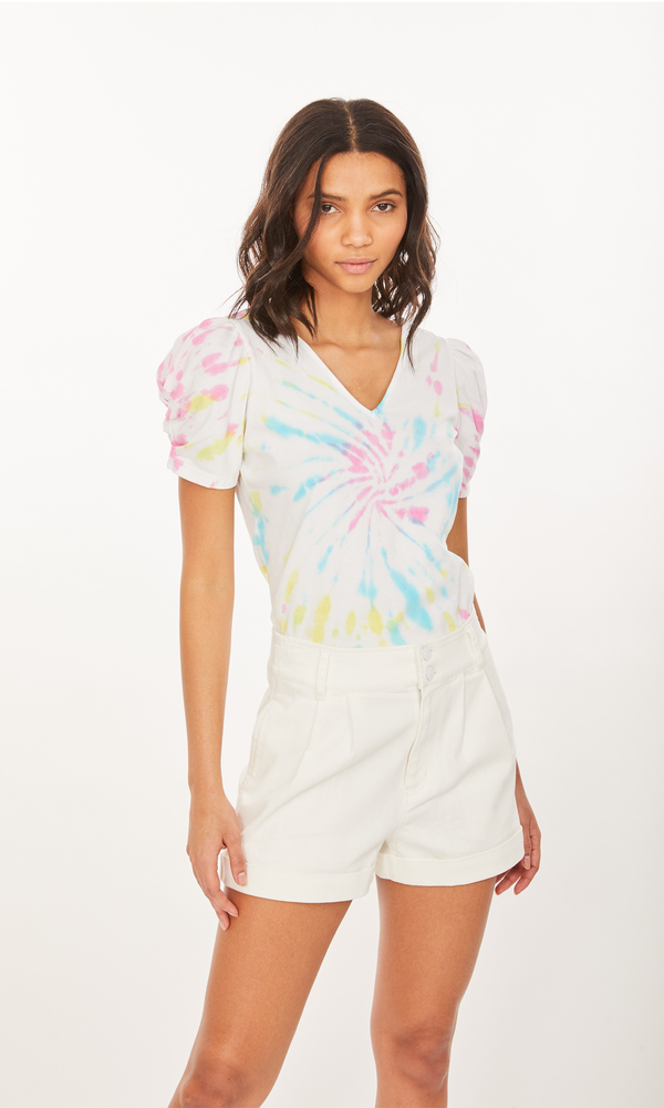 Generation Love - Odessa Top - Electric Tie Dye