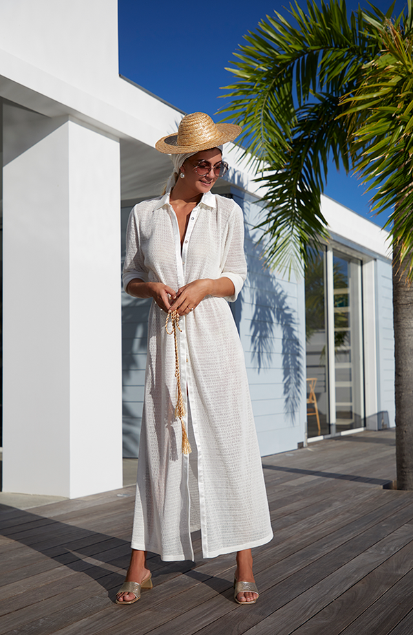 My Beachy Side - Peregrine Maxi Cover- Up In Multiple Colors