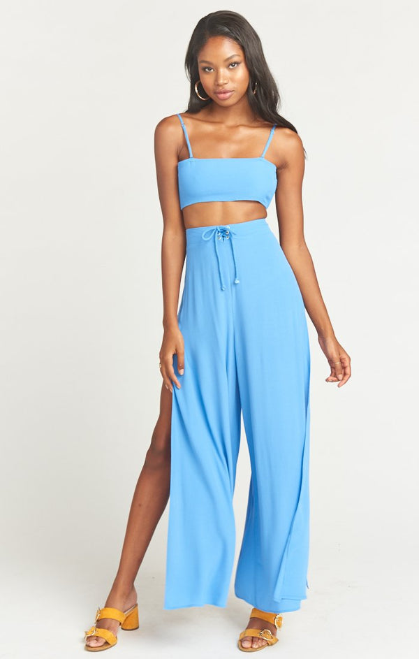 Show Me Your Mumu - Pierre Slit Pants - Italian Blue