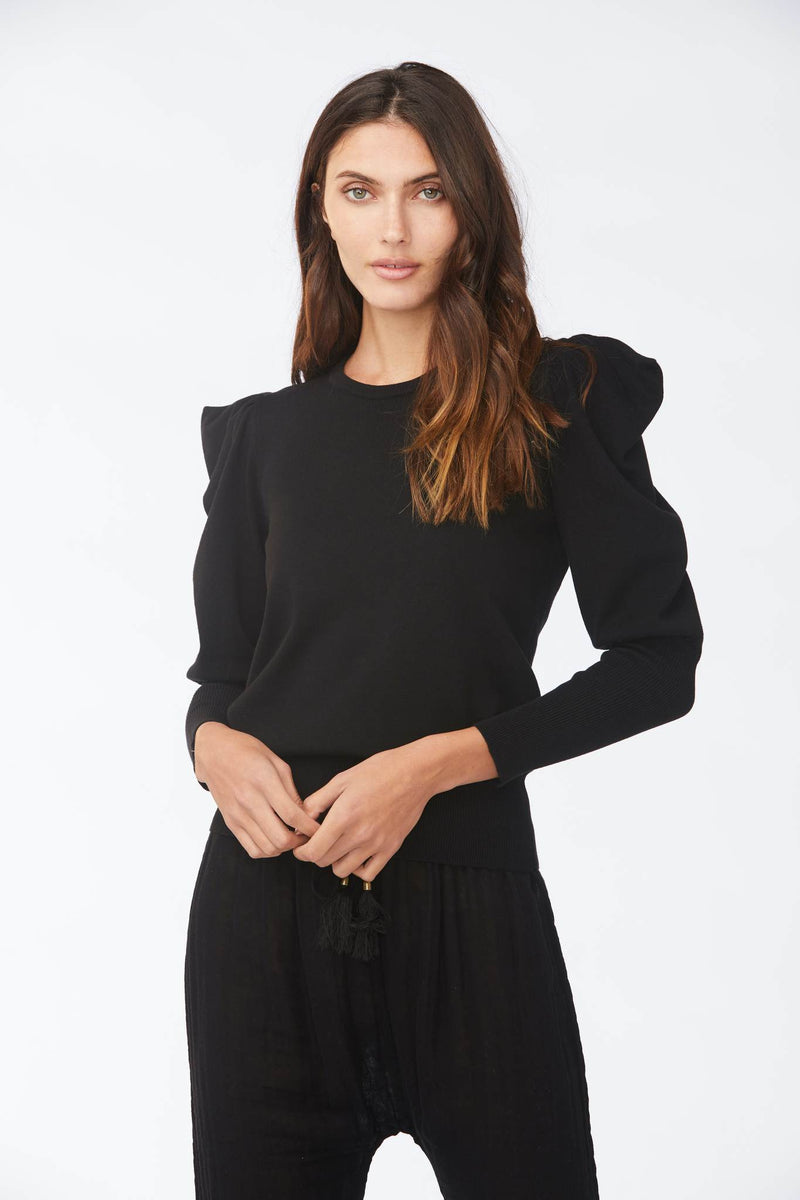 Sundays - Plum Sweater - Black
