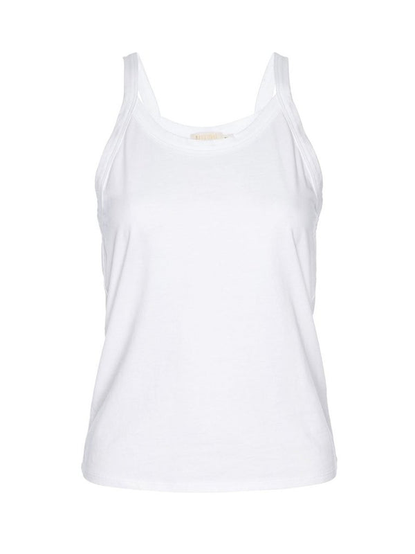 Nation LTD - Rebecca Strappy Tank - White