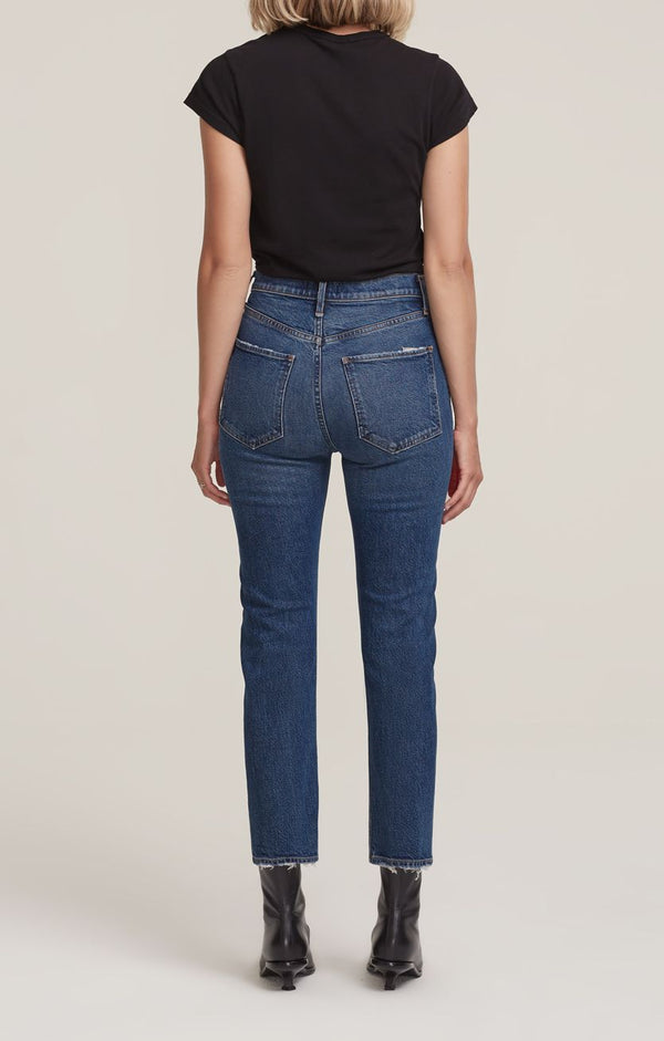 Agolde - Riley Crop Jeans - Pastime