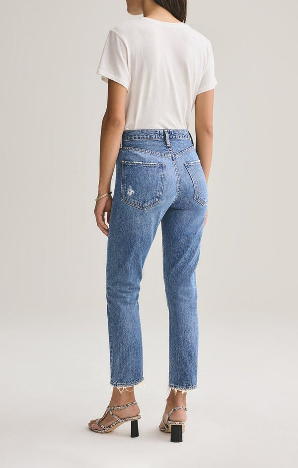 Agolde - Riley Crop Jeans - Frequency