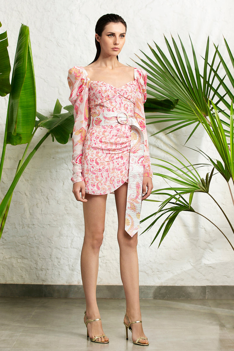 Rococo Sand - Candy Short Dress - Candy Pink