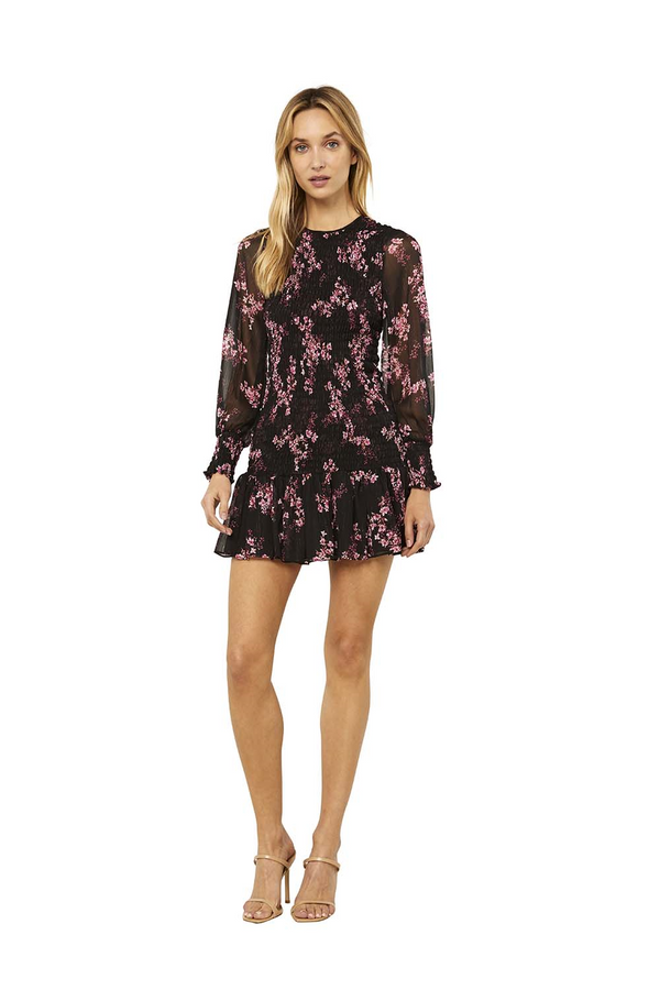 Misa - Roisin Dress - Berry Floral
