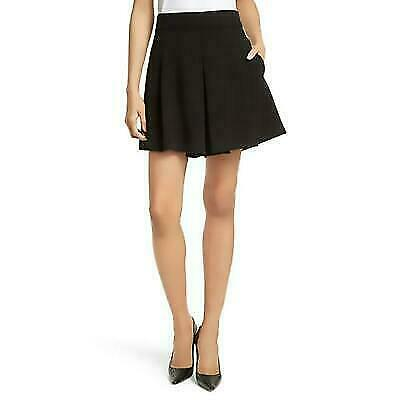 Alice & Olivia- Olette Pleated Shorts- Black