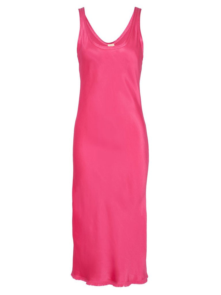 Nation LTD - Samantha Bias Tank Dress - Bubblegum