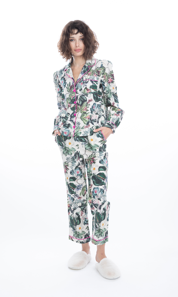 Generation Love - Sasha Pajama Set - Floral Jungle