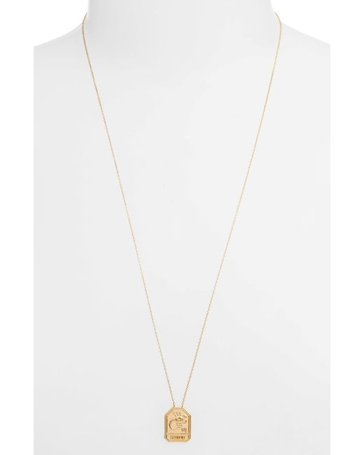Jennifer Zeuner - Kiana Necklace (Scorpio) - Yellow Vermeil