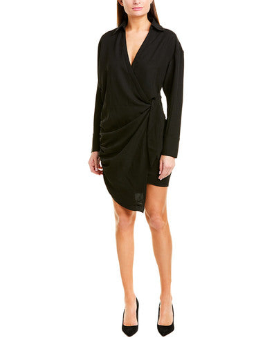 Le Rumi- Jada Shirt Dress - Black