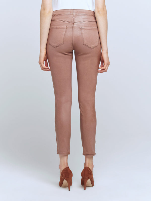 L'agence - Margot H/R Skinny - Sparrow Contrast Coated