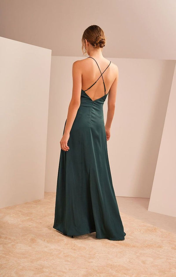 Keepsake - Infinity Gown - Forest Green