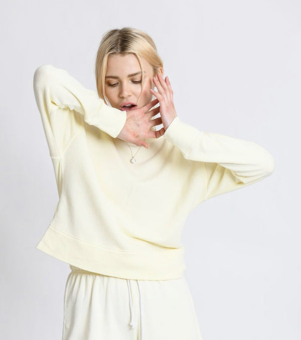 Perfect White Tee - Tyler Pullover In Multiple Colors