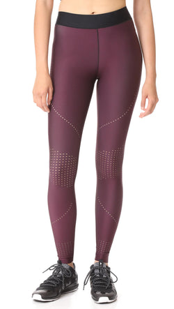 Ultracor - Oblique Pixilate Legging - Burgundy